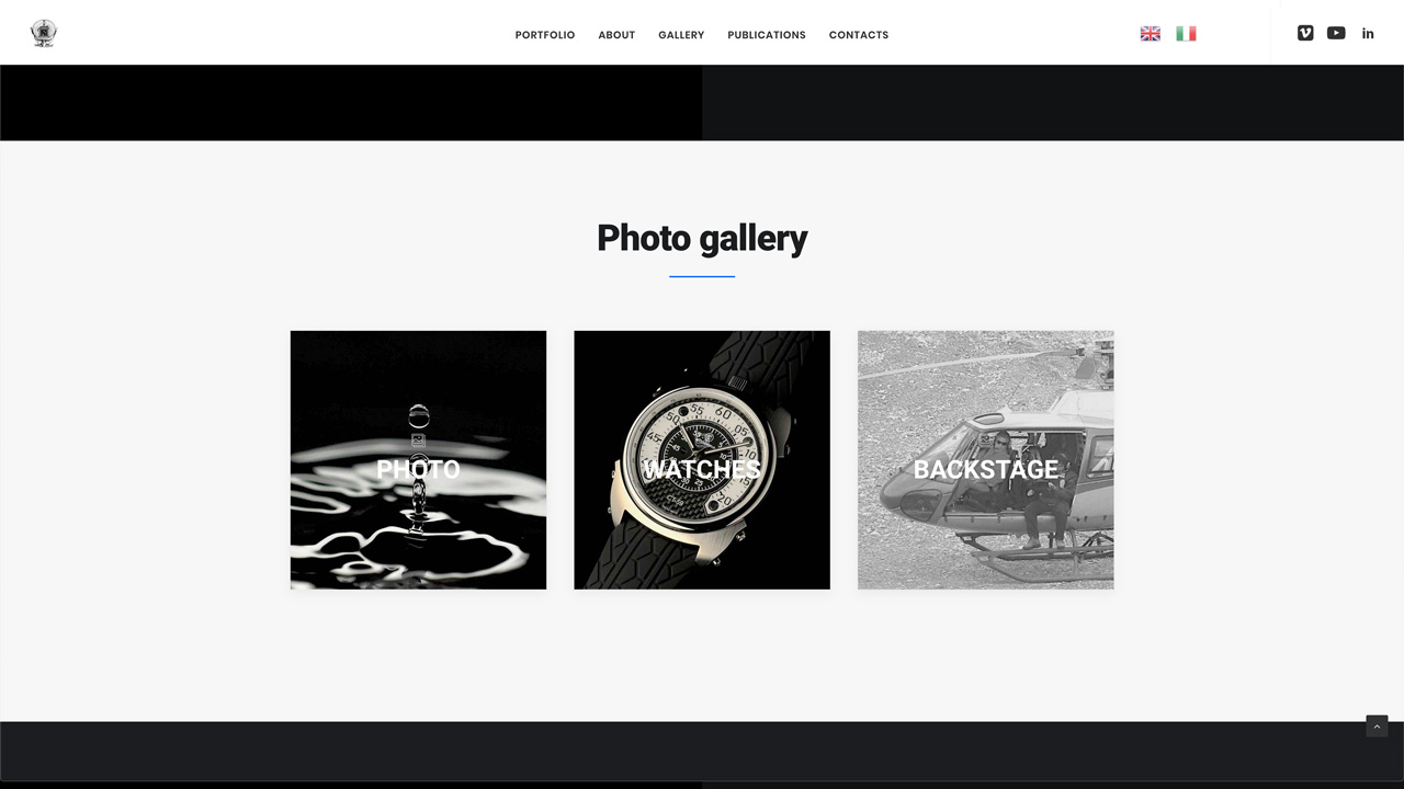 Wordpress Web Design ZenMode Studio Milano Post-Production
